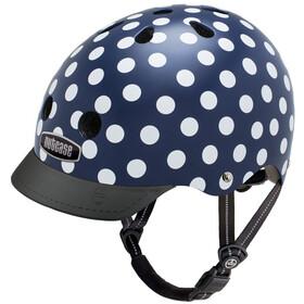 Nutcase Street Helmet Kinder navy dots